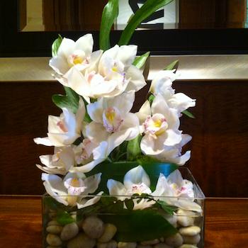 Hotel Lobby Sidetable Velene's Floral