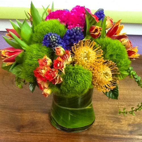 Rainbow Multi-Floral Arrangement