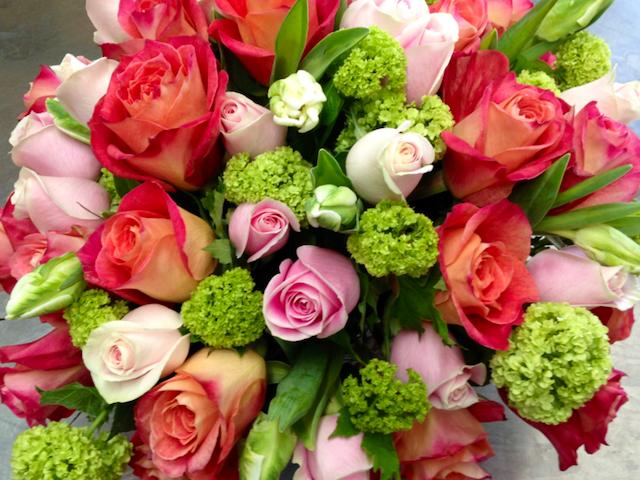 Natural Rose Bouquet Centerpiece Velene's Floral