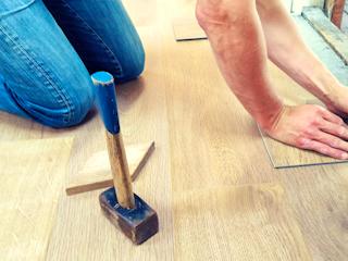 Hardwood Floor Installer  Real Handyman