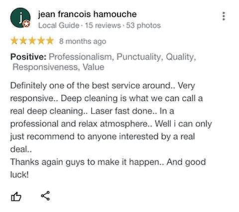 Restaurant Cleaning Service Bangkok Reviews