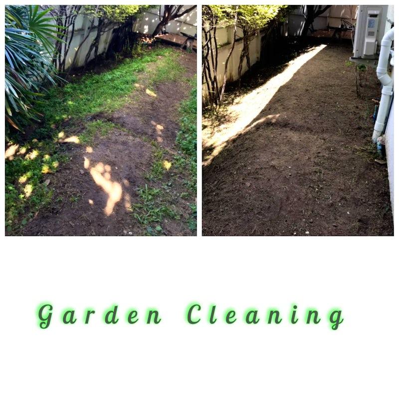 Successful garden cleaning at Thonglor, Bangkok