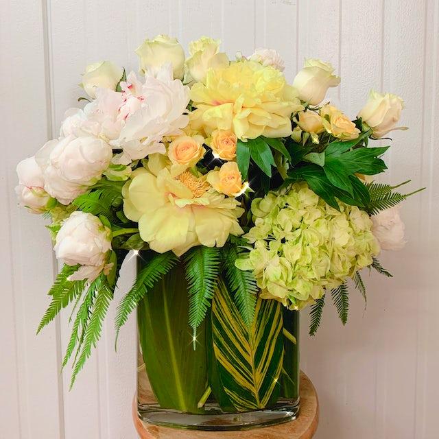 Beautiful Yellow Arrangement  Velene's Floral