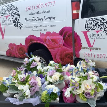 Delivering Floral Sets! Velene's Floral