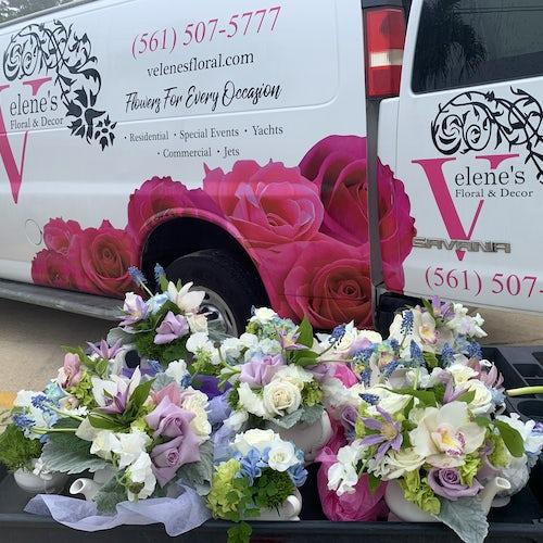 Delivering Floral Sets!