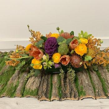 Large ThanksGiving Colors Arrangement Velene's Floral