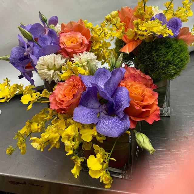 Colorful Mini Floral Arrangements Velene's Floral