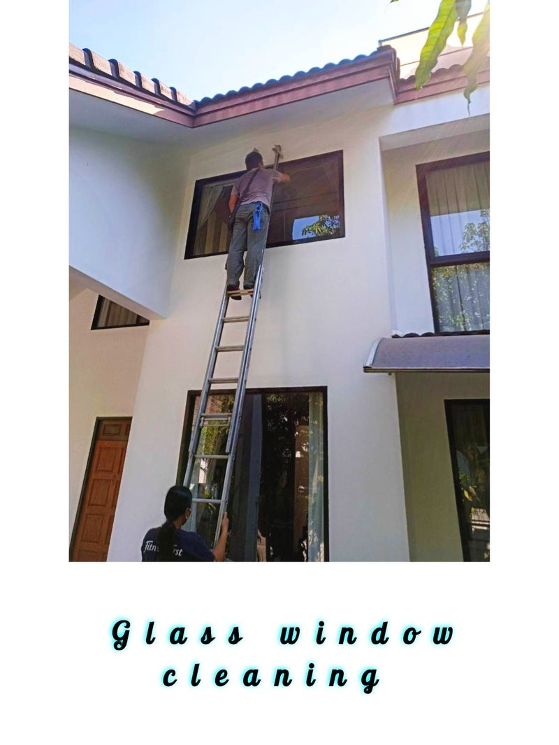 Big day for house window cleaning