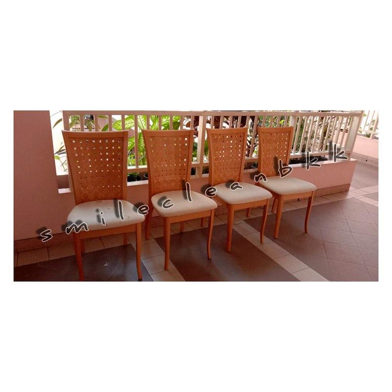 Repairing our customer favorite chair at Klongtoey , Bangkok