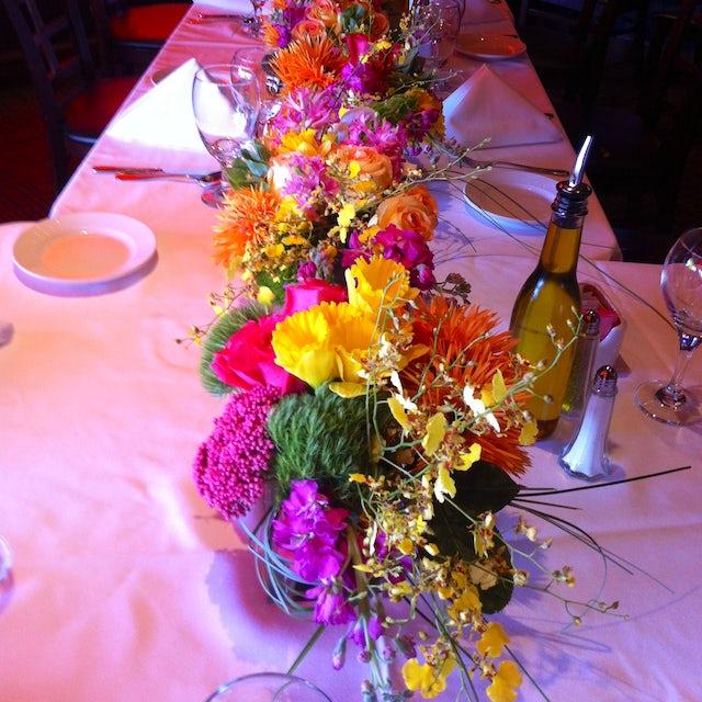 Multi Colored Dining Floral Arrangements Velene's Floral