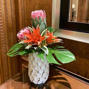 Pink Lobby Piece Velene's Floral